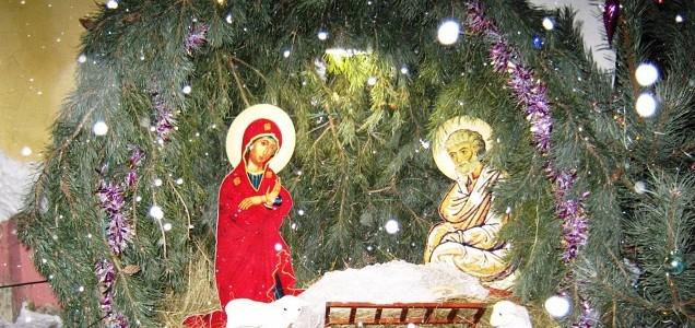 Поздравили прихожан с Рождеством