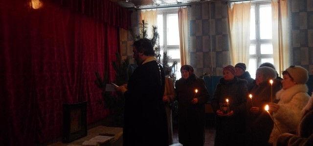 Молебен святым мученикам Вифлеемским младенцам