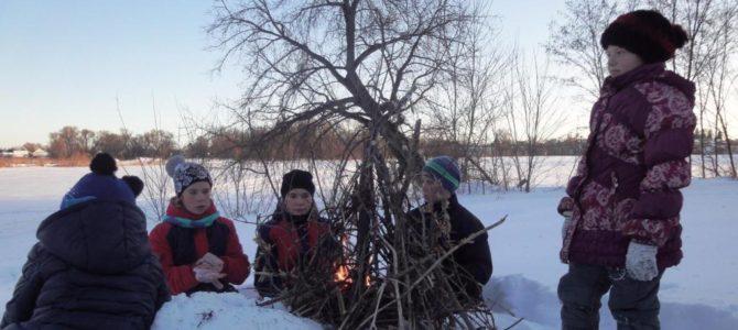 Зимний выезд на природу