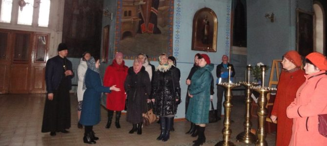 Экскурсия в Михайловском храме