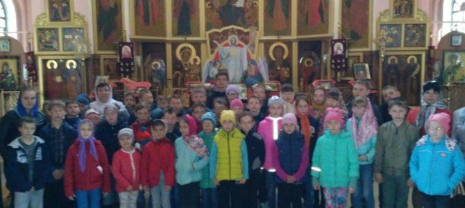 Экскурсия в Воскресенском храме