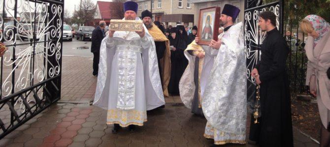 Наш храм посетили святыни Ташкентской епархии