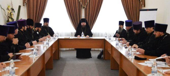 В Прохоровке состоялось заседание Епархиального Совета