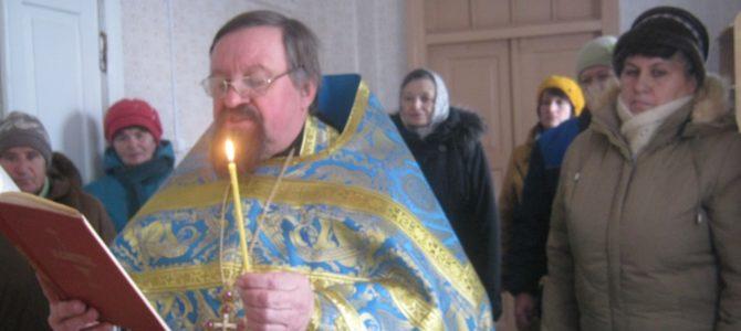 Молебен в Новоалександровке