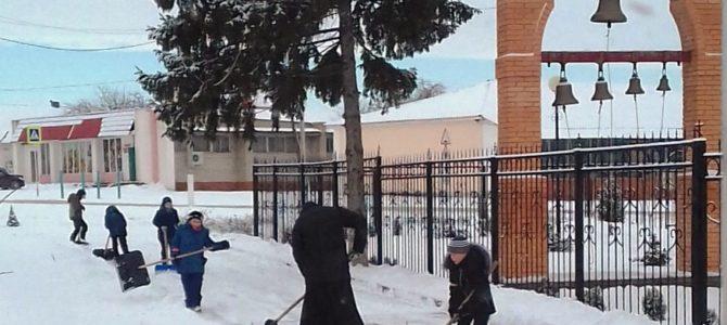 Вот и на Белгородчину пришел долгожданный снег и мороз