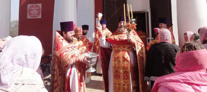 Престольный праздник храма Воскресения Христова