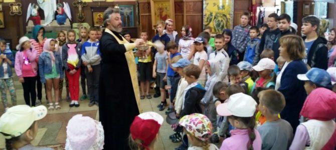 Молебен в День защиты детей