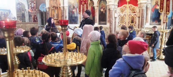 Школьникам о православном храме