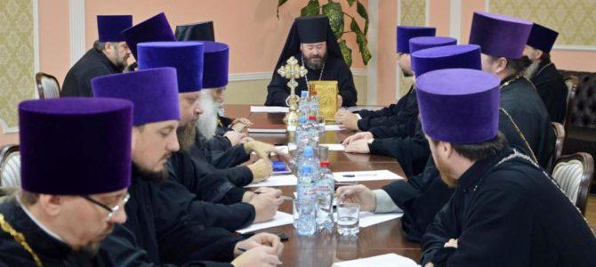 Расширенное заседание Епархиального Совета Губкинской епархии