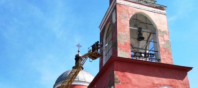Косметический ремонт в храме