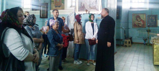 Курские паломники в Борисовском храме