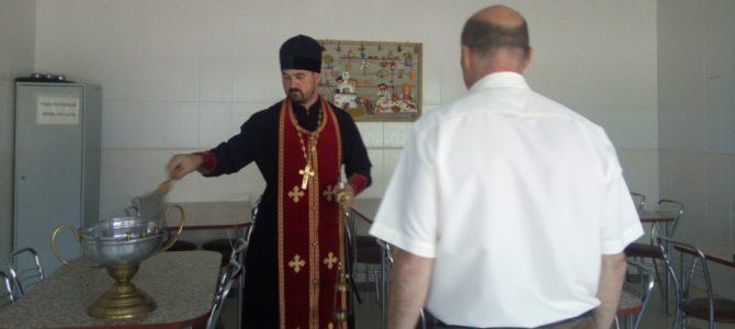 В Борисовке состоялось освящение психоневрологического интерната