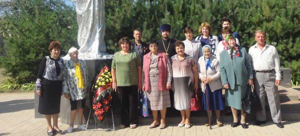 Торжественно-траурный митинг в честь освобождения села Грузское
