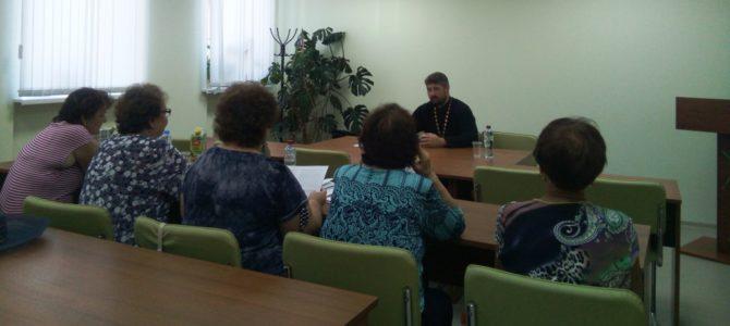 Встреча с пожилыми гражданами Борисовского района