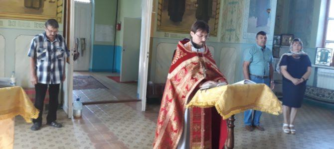 В Крюковском храме помолились о страждущих недугом винопития и наркомании