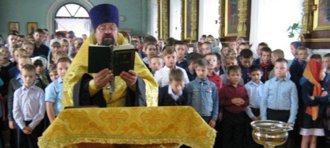 Молебен в Стригуновском храме